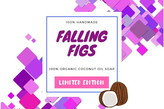 Falling Figs Organic Coconut Oil Bar Soap