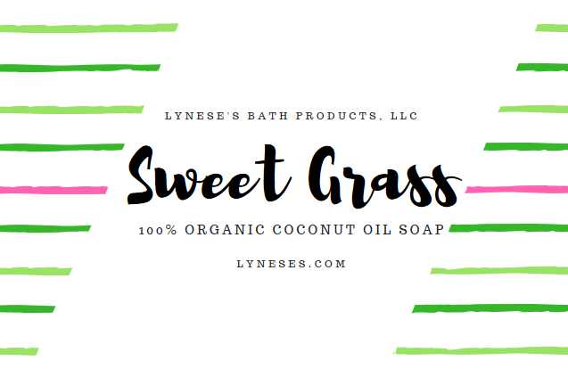 Sweet Grass Organic Coconut Oil Soap